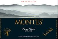 Montes Pinot Noir Limited Selection